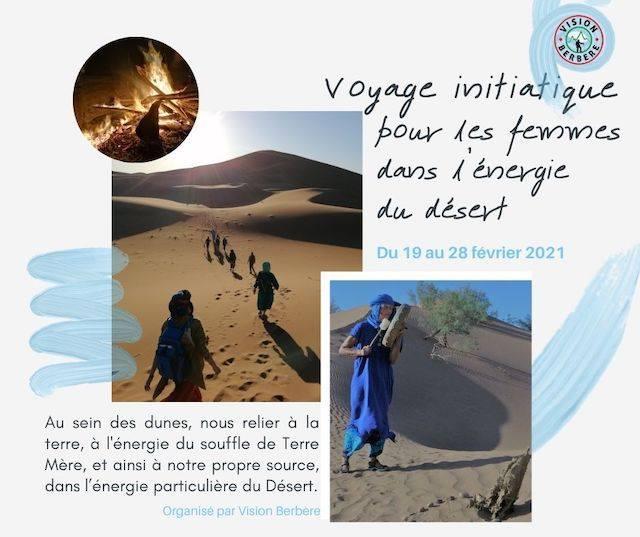 Voyage Initiatique pour les Femmes dans l'Energie du Désert