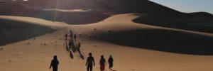 stage Randonnée Desert Yoga