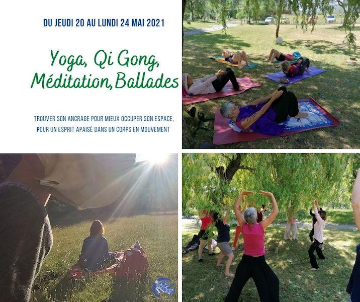 Yoga, Qi Gong, Méditation, Ballades – Mai 2021